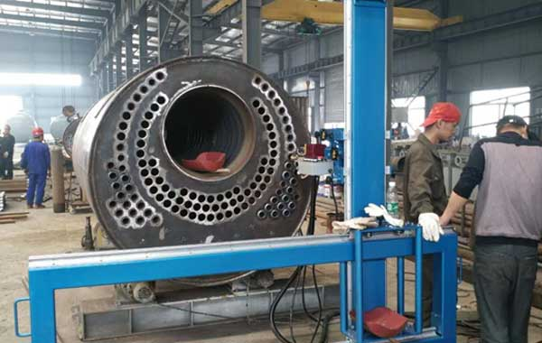 Tube to Plate Automatic Welding Machine Welding Method